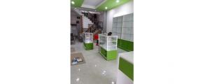Thi công nội thất gỗ shop mỹ phẩm